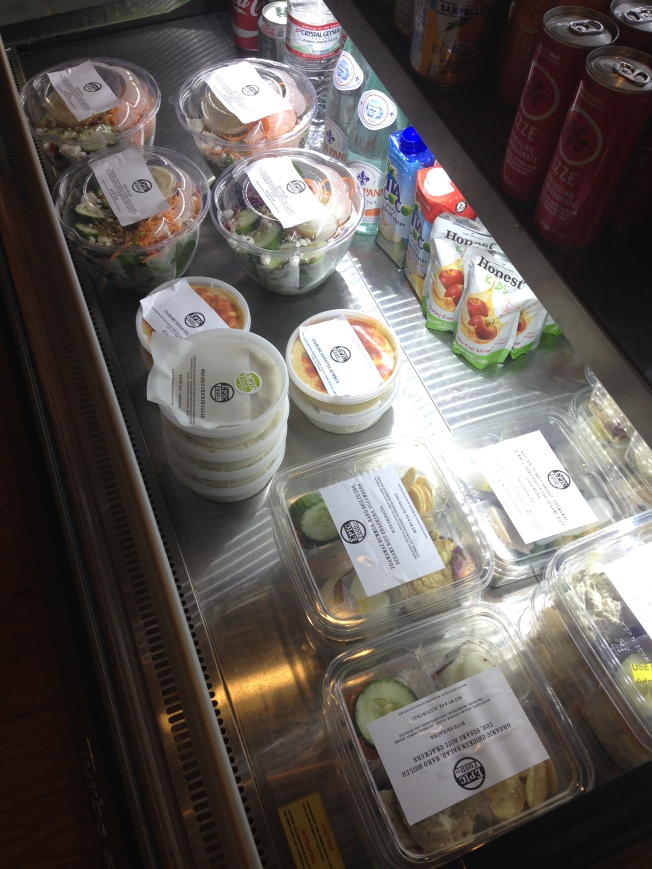 Our Grab N' Go Section
